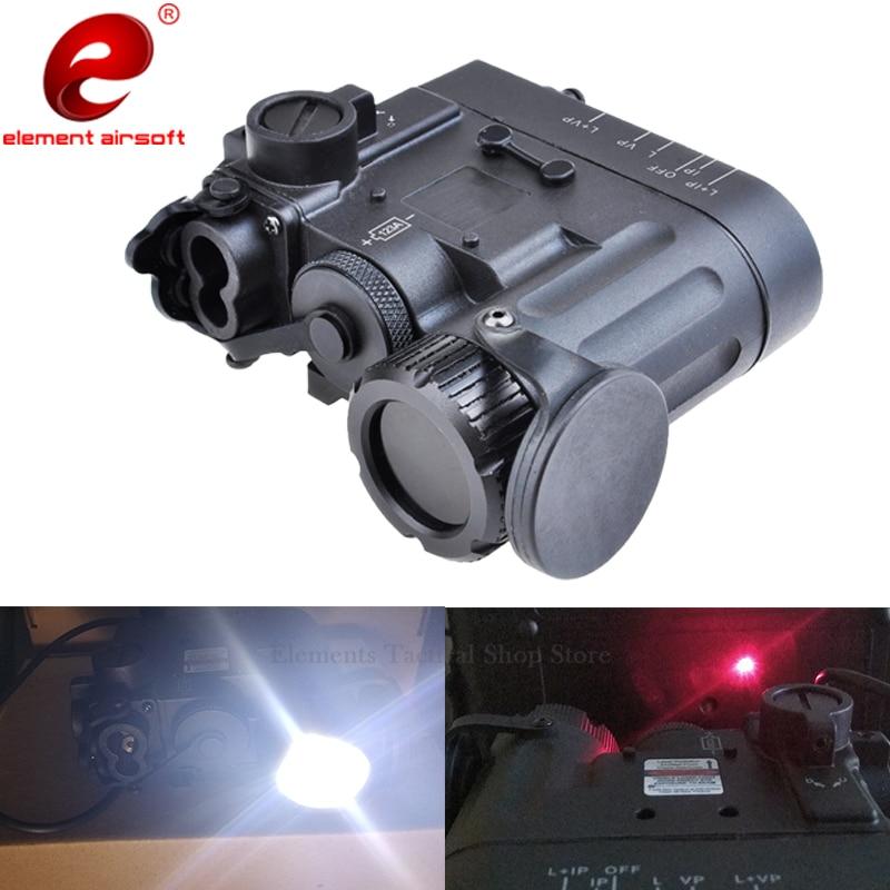 Element Airsoft DBAL Tactical Light IR Red Laser Torch DBAL EMKII IR illuminator Weapon Gun Light