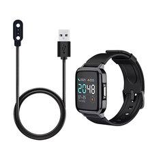 Ładowarki do ładowarki Xiaomi Haylou kabel okrągły kwadratowy kabel do ładowania stacji dokującej do ładowarki USB Xiomi Haylou tanie tanio CASPTM