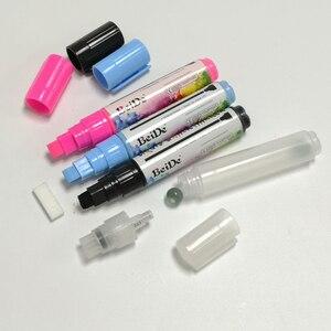 1 шт. 10 цветов хайлайтер флуоресцентная жидкость мел маркер ручки для художественной живописи LED доска для письма доска 8 мм Бесплатная доста...