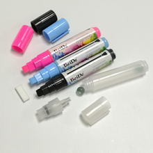 1 Pcs 10 Colors Highlighter Fluorescent Liquid Chalk Marker Pens for Art Painting LED Writing Board Blackboard 8mm Free Shipping flashcolor15mm white pink liquid chalk marker for led writing board glass window highlighter fluorescent pen school art painting