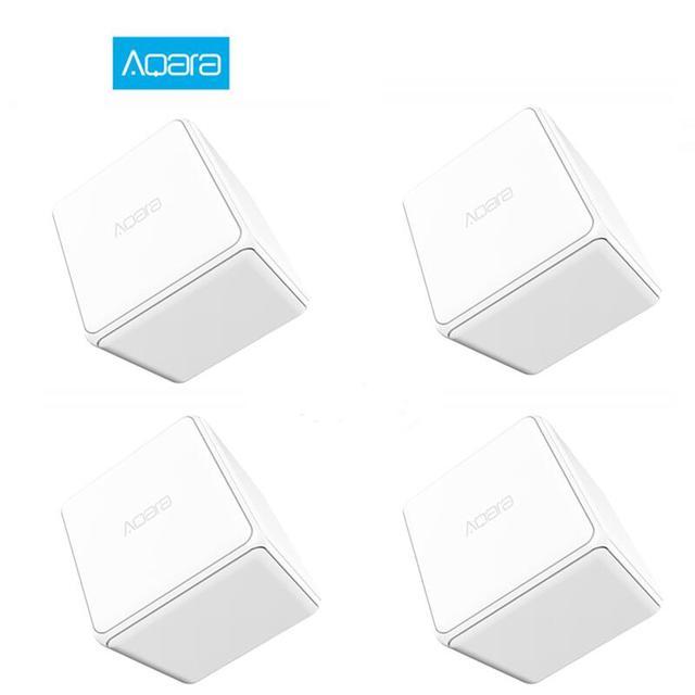 Aqara Cubo Magico Controller Zigbee Versione Controllato Sei Azioni con il Telefono App per Smart Home, Casa Intelligente Dispositivo TV Presa INTELLIGENTE