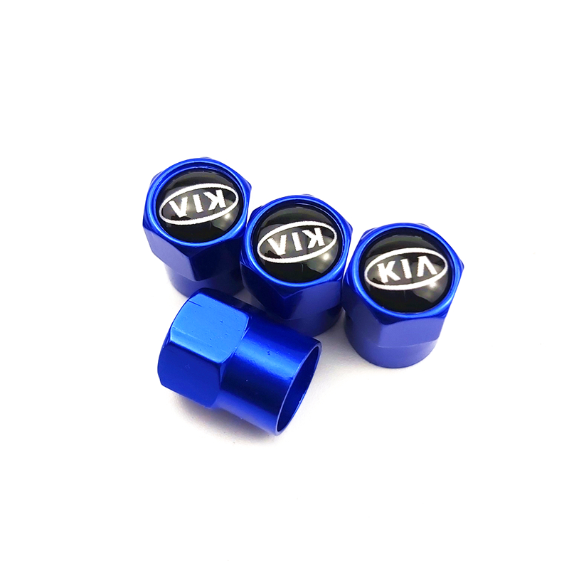 4pcs Auto Emblem Cap Case For Kia Rio Ceed Sportage Cerato Soul Sorento K2 K5 Flip Car Accessories