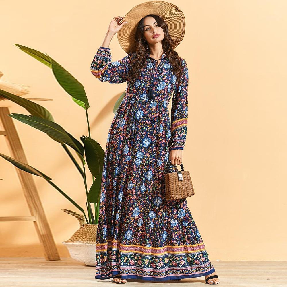Ramadan Eid Mubarak Abaya Mujer Turkey Hijab Muslim Dress Islamic Clothing Dresses Abayas For Women Caftan Dubai Moroccan Kaftan