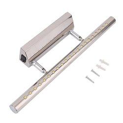 7W LED lampa lustrzana stal nierdzewna ścienna obrotowa wodoodporna SMD5050 praktyczna do łazienki sypialnia z przełącznikiem w Oświetlenie profesjonalne od Lampy i oświetlenie na