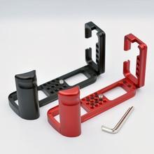 กล้องL Bracket Hand Gripผู้ถือแผ่นแนวตั้งสำหรับFujifilm Fuji X T3 X T2