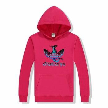 Game Of Thrones Blue Black Dracarys Print Hooded Hip Hop Sweatshirts Autumn Winter Skateboard Women Hoodies Femme Clothes Tops