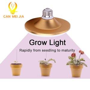 Image 1 - 光フルスペクトル phytolamp ランプ植物の花 E27 220 v 植物ライト屋内苗ガーデン温室照明