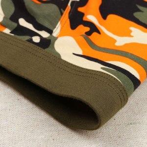 Image 5 - Boxer de Camouflage 4 pièces/lot, sous vêtement masculin, respirant et confortable, Boxer Hombre
