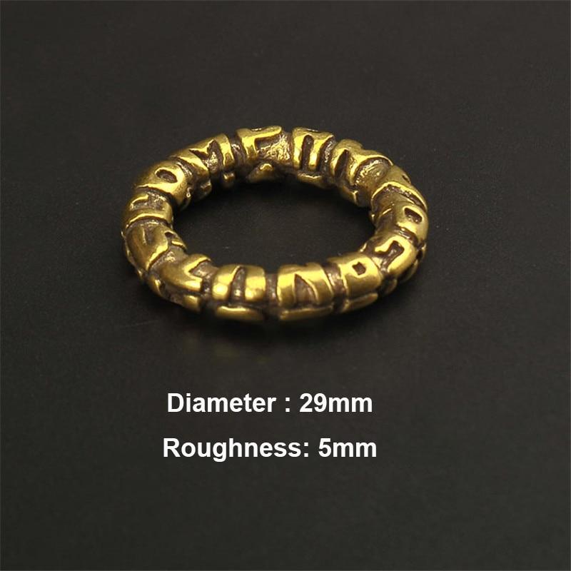 brass keyring (9)
