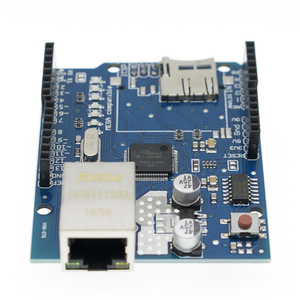 Image 2 - 10 pz/lotto UNO Shield Ethernet Shield W5100 R3 UNO Mega 2560 1280 328 UNR R3 <solo W5100 bordo di Sviluppo