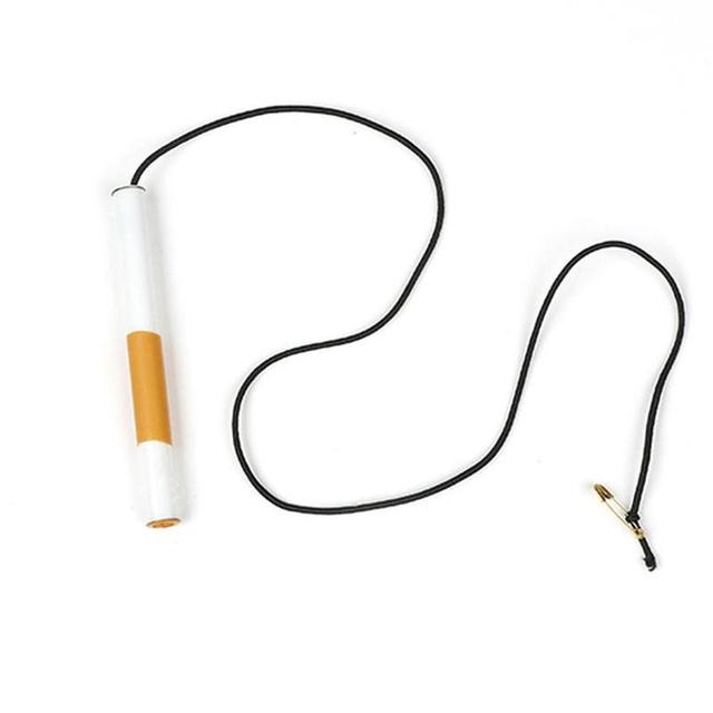 1pcs Trick Toy Disappear Cigarette Breathe Into Nose Cigarette Illusion Performance Close-up Props Stage I3Z6