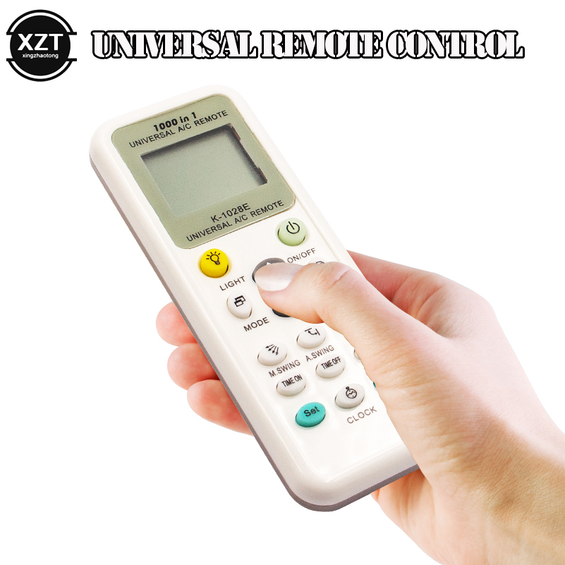 Universal 1000 in 1 AC Remote Control for Air Conditioner Condition LCD Backlight A/C Muli air conditioning Remote Control
