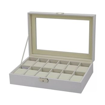 Jewelry Watch Box Case For YAZOLE Elegant Wrist Present Gift Display Storage Organizer