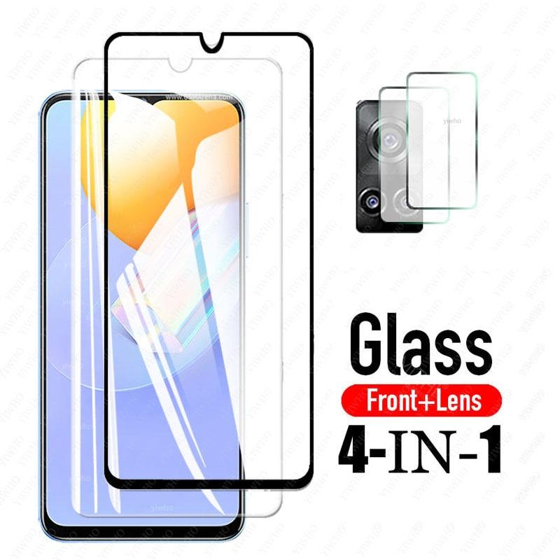 Стекло для Vivo Y31, стекло для Vivo Y31, закаленное стекло, защитная пленка для экрана Vivo Y31, стекло для объектива 6,58 дюйма
