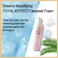 Dreamy Facial Cleanser Foam Face Moisturizing Brightening MECMOR Additive Free Natural Original Sensitive Skin Usable 180ml