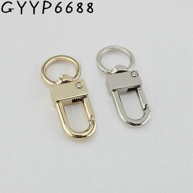 12mm 10pcs 3 Colors Luggage Hardware Snap Hook Metal Buckle Metal Lock Buckle Female Bag Shoulder Strap Buckle Bags, Accessories