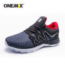 ONEMIX erkekler koşu ayakkabıları nefes açık erkek Sneakers erkek spor rahat koşu ayakkabıları yetişkin adam için atletik yürüyüş ayakkabısı