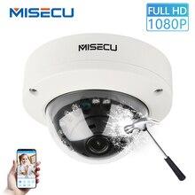 MISECU 2,8mm Vandalproof 1080P H.265 48V POE Kamera Metall Indoor Dome Onvif P2P Motion Erkennen E mail IR nacht Sicherheit IP Kamera