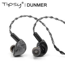 Tipsy Dunmer HIFI Audio 9.2mm Dynamic Driver Monitor DJ Studio In-ear Earphone with 2 Pin 0.78mm Detachable Cable Earbuds 2018 tfz tequila 1 hifi audiophile 2 pin 0 78mm hifi music monitor studio detachable in ear earphone iems dynamic mmcx earbuds