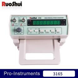 3165 Victor RuoShui miernik częstotliwości wysokiej rozdzielczości licznik miernik częstotliwości Benchtop 0.01Hz ~ 50MHz 50MHz ~ 2.4GHz