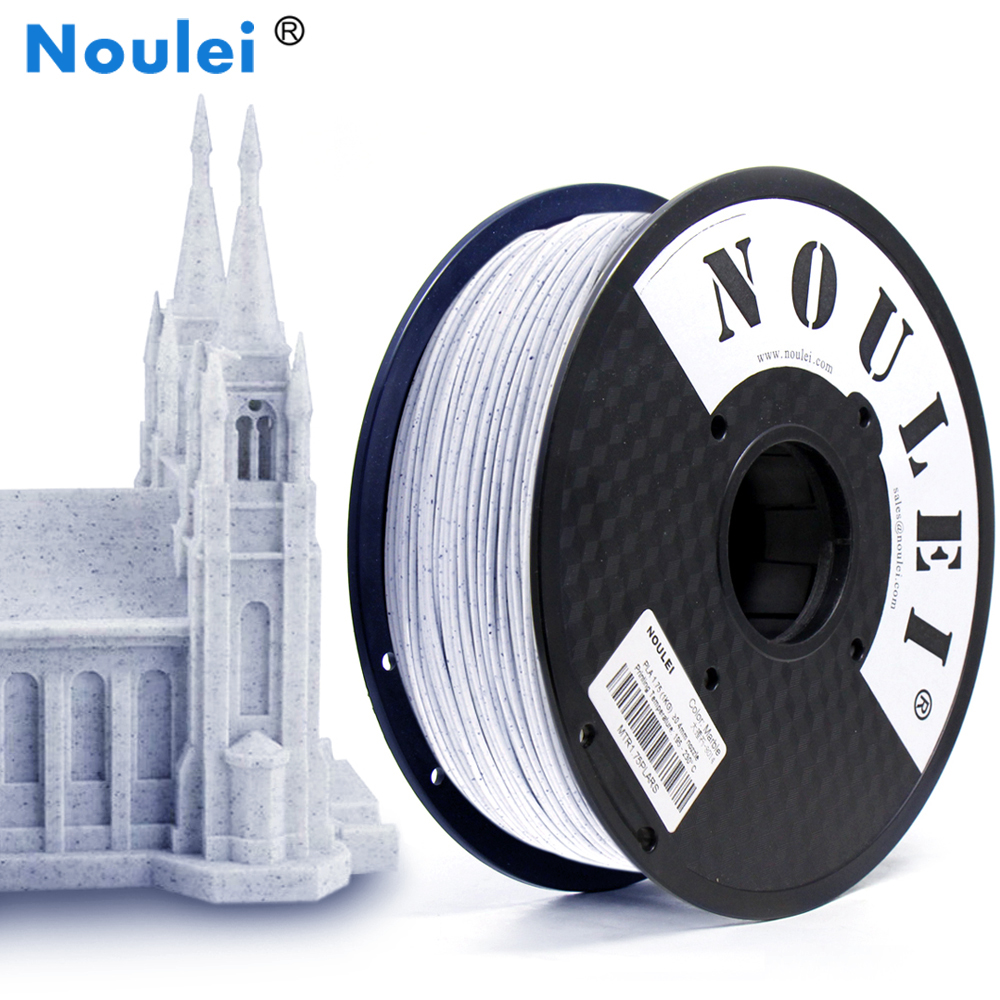 1KG Rock Texture PLA Noulei 3D Printer Filament Marble Color Special 3 D Print Material