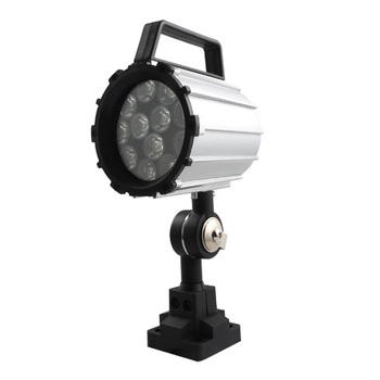 Short Arm Led Work Light 12W 24V~36V Aluminum Alloy Lighting 280Mm for Lathe Cnc Milling Machine