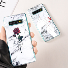 Mordern Nordic Marble Soft Silicone Cover For Samsung Galaxy S 9 8 Plus Phone Case Note S7 Edge Protective Cases