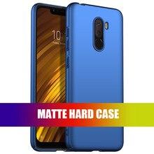 For Xiaomi Poco F1 F3 Case Slim Hard Matte Skin Shockproof Fashion Back Cover Phone Case For Xiaomi Pocohone POCO F1 F3