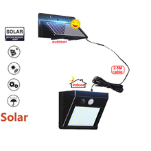 цена на 1/4pcs LED Solar Power Garden light Path light PIR Motion Sensor waterproof Night Sensor Wall lamp Outdoor Patio Street Security