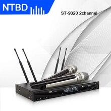 NTBD домашний KTV Свадебный Конференц-зал сценическая производительность ST9320 UHF профессиональная беспроводная динамическая микрофонная система