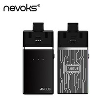 Nevoks-Kit de vapeo Original Angus RDA, 60W, batería de 1700mAh, bobinas Ni80 de 0.18ohm, bobina de malla, Mod Pod, vaporizador de cigarrillo electrónico