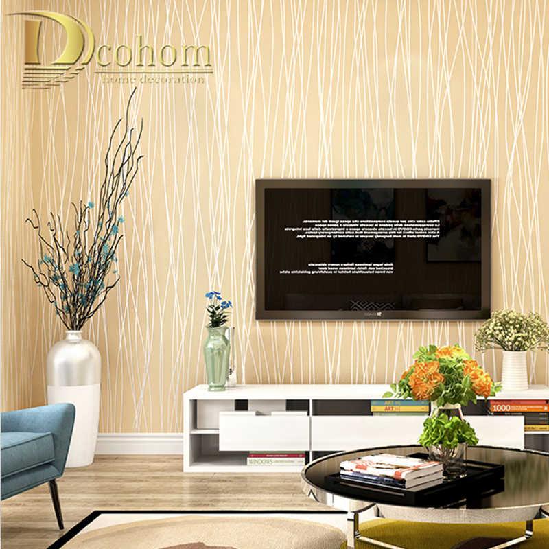 Простой стиль, серебристо-серая текстура, Настенная бумага, чистый цвет, вертикальная полоска, настенная бумага, рулон для гостиной, белые обои