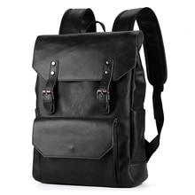 Mochilas de cuero para hombres mochilas negras para mujeres mochilas escolares para adolescentes Mochila Masculina para ordenador portátil Mochila para niños Randoseru