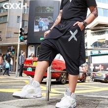 Pants Men Streetwear Joggers Casual-Trousers Harajuku Japanese Korean-Style Calf-Length