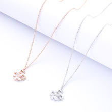Swan Pendant Necklace Female Fashion Jewelry Ladies Fine Jewelry Gift Party Decoration Charm Clavicle Chain Birthday Gift birthday party fine 24k necklace pendant heart shape design arab charm female anniversary gift jewelry accessory