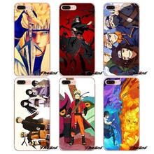 Hinata Naruto Uzumaki Kakashi TPU Caso Capa Para O iPhone Da Apple X 4 4S 5 5S SE 5C 6 6 s 7 7 6 8 Plus Plus plus 8 mais Fundas Coque(China)