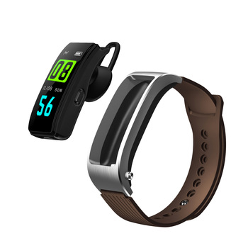 color screen intelligent bracelet information alarm clock reminder Bluetooth call bracelet