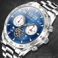 2021 ECG PPG Smart watch uomo cardiofrequenzimetro pressione sanguigna smartwatch sonno Fitness Tracker quadrante chiamata Smartwatch per Xiaomi