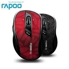 Rapoo 7100Plus ratón óptico inalámbrico para videojuegos, 5G, con ajuste de DPI, desplazamiento 4D, para ordenador de escritorio y portátil