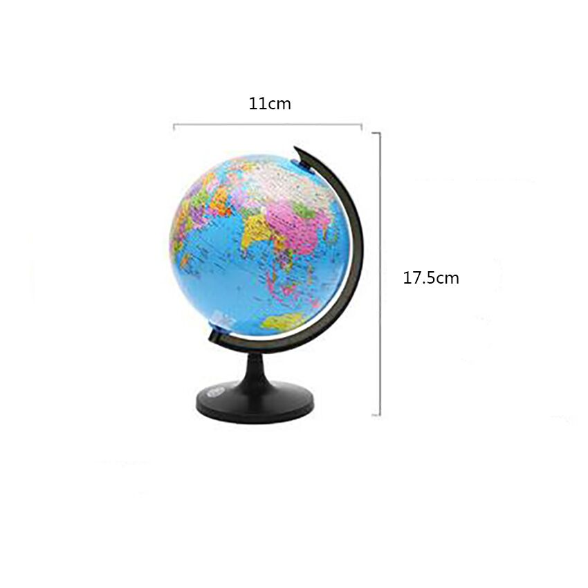 Map-Ball Globe World-Globe-Earth Geography Learning Educational with Stand for Medium