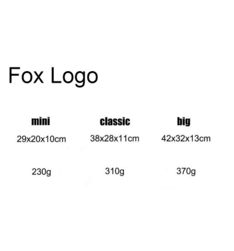 Mini. Classic. Big .7L16L20L Classic Backpack Fox Waterproof Backpack Notebook Computer Backpack Bag Outdoor Travel Backpack Gir
