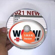Новейший рис WOW 5.00.8 R2 CD DVD многоязычный с бесплатным генератором ключей для Vd Tcs Pro delicht 150e Multidiag легковые и грузовые автомобили