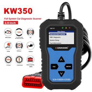 Image 1 - NEUE! KONNWEI KW350 OBD2 Auto Scanner Code Reader Scanner OBD2 Auto diagnose Tool für AUDI/SEAT/SKODA/VW golf Obd2 Auto Werkzeug 8980