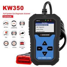 Nouveau! KONNWEI – KW350 outil de diagnostic automobile, lecteur de Code OBD2, Scanner pour AUDI/SEAT/SKODA/VW Golf 8980