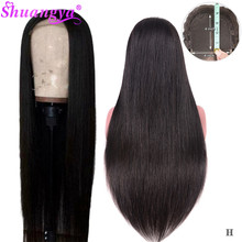 Straight Lace Closure Human Hair Wigs With Baby Hair 5x5 4x4 Lace Closure Wig Remy Lace Front Human Hair Wig 150% Fast Shipping