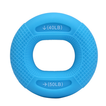 Silicone Adjustable Hand Grip 20-80LB Gripping Ring Finger Forearm Trainer Carpal Expander Muscle Workout Exercise Gym Fitness 5