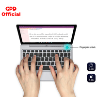 GPD P2 Max Pocket 2 8GB 256GB 8.9 Inch Intel Celeron 3965Y IPS Touch Screen Mini Portable Laptop Netbook Computer PC Windows 10