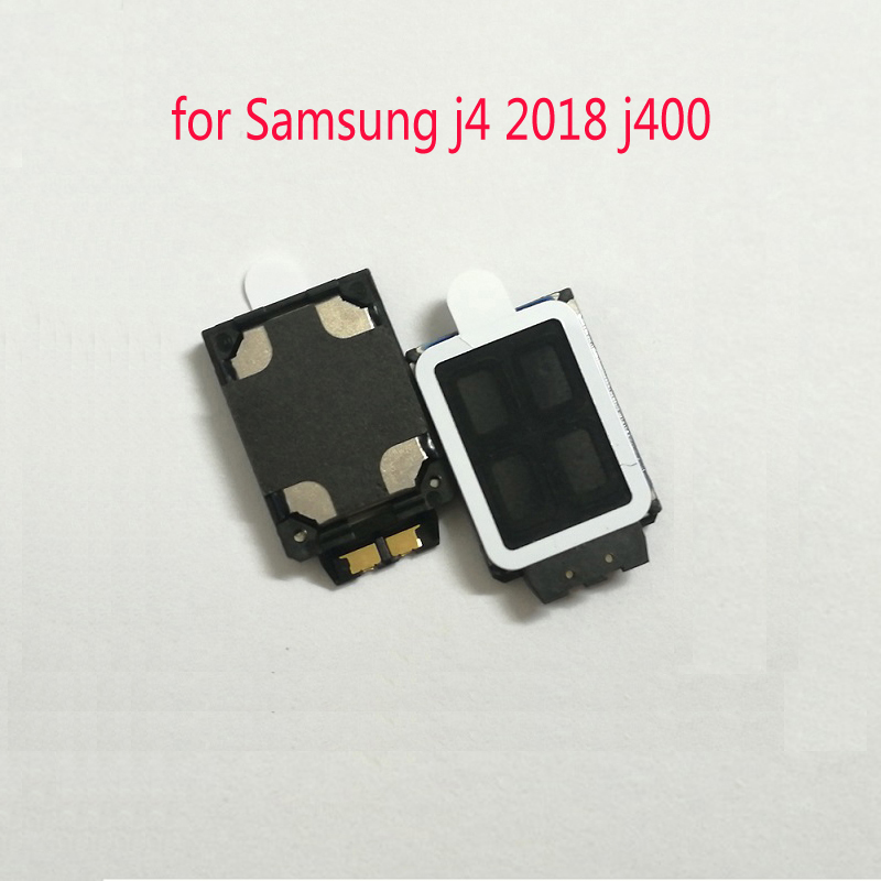 Phone Speaker For Samsung Galaxy J4 2018 J400 J400F J400FN J400G Original Loud Buzzer Ringer Flex Cable Replacement