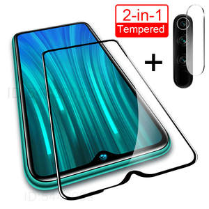 2 in 1 Camera Lens Tempered Glass For Redmi Note 8 7 6 5 Pro Screen Protector For Xiaomi Redmi 7 7A K20 Pro 6A Glass Film