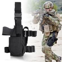 Hunting Thigh Holster Pistol-Gun Universal Tactical Pouch Gun-Bag Drop-Leg Military Right/left